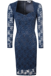Alice And You Sweetheart Lace Dress Navy