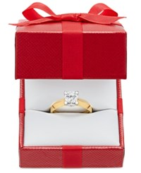 Macy's Certified Diamond Solitaire Engagement Ring 3 4 Ct. T.W. In 14K White Or Two Tone Gold Yellow Gold