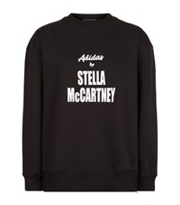 Adidas By Stella Mccartney Logo Print Sweatshirt Female Black