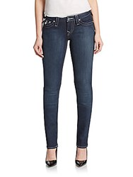 True Religion Rhinestone Slim Straight Leg Jeans 11 Lonesta