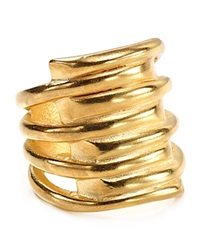 Uno De 50 Tornado Ring Gold