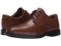 Clarks Un.Bizley View Tan Leather Men's Lace Up Wing Tip Shoes