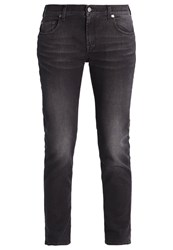 7 For All Mankind Relaxed Fit Jeans Black Black Denim