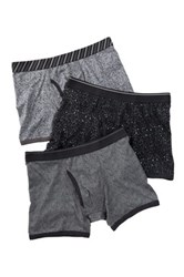 Bottoms Out Printed Boxer Brief Pack Of 3 Multi