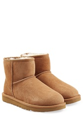Ugg Australia Classic Mini Suede Boots Brown