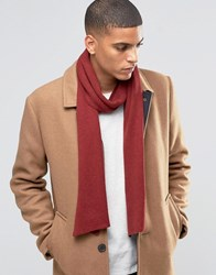 Selected Homme Scarf Leth Red