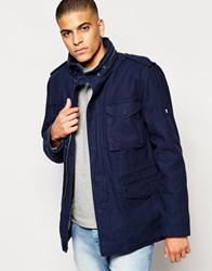 Original Penguin Military Style Jacket Navy