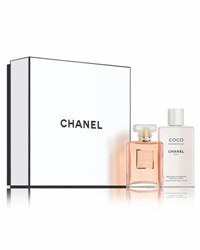 Chanel Limited Edition Coco Mademoiselle Body Lotion Set