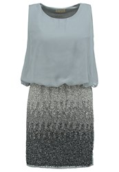 Lace And Beads Sharon Cocktail Dress Party Dress Ombre Light Grey