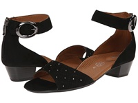 Ara Gracia Black Nubuk Women's Sandals