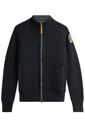 Parajumpers Merino Wool Cardigan With Zipped Front Gr. S