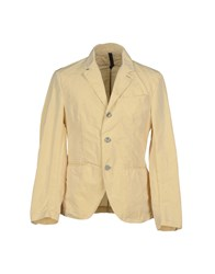 Aquarama Suits And Jackets Blazers Men Beige