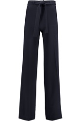 Tory Burch Macey Crepe Wide Leg Pants