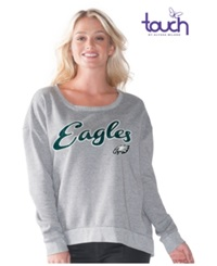 G3 Sports Women's Philadelphia Eagles Embrace Sweatshirt Gray
