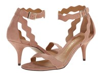 Chinese Laundry Rubie Dusty Rose Suede High Heels Pink