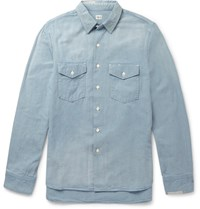 Chimala Chambray Shirt Blue