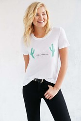 Truly Madly Deeply Fun Destination Tee White