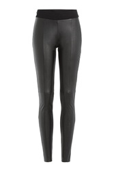 Mcq By Alexander Mcqueen Mcq Alexander Mcqueen Faux Leather Leggings Black