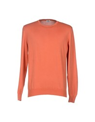 Luigi Borrelli Napoli Knitwear Jumpers Men Rust