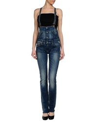 Replay Dungarees Trouser Dungarees Women Blue