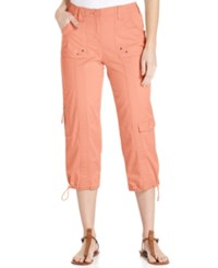 Styleandco. Style And Co. Cargo Capri Pants