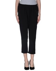 The Editor Casual Pants Black