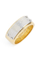 Marc By Marc Jacobs 'Standard Supply' Band Ring Gold Multi