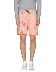 Pagano Trousers Bermuda Shorts Men Orange