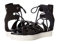 Mcq By Alexander Mcqueen Cephas Lace Up Sandal Black Women's Sandals