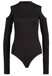 Y.A.S Yas Yasmaria Long Sleeved Top Black
