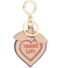 Burberry Young Love Leather Keyring Pink