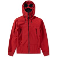 C.P. Company Classic Softshell Goggle Jacket Red