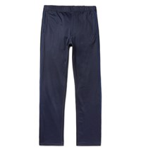 Engineered Garments Garment Tapered Webbing Trimmed Jerey Weatpant Navy