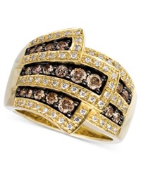 Le Vian Chocolate Diamond Wrap 1 Ct. T.W. In 14K Gold No Color
