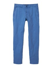 Mango Berlin5 Straight Fit Bomull Chinos Mid Blue