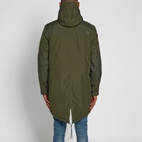 The North Face Mountain Parka Green