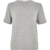 River Island Womens Grey Sweat T Shirt