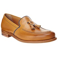 John Lewis And Co. Made In England Leather Loafers Tan