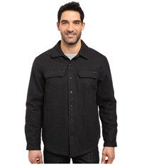 Prana Wooley Jacket Black Heather Men's Coat