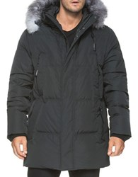 Andrew Marc New York Freezer Down Filled Parka Black