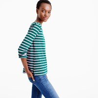 J.Crew Sailor Stripe Boatneck T Shirt
