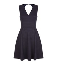 Ted Baker Tawney Tonal Stripe Skater Dress Female Navy
