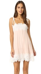 For Love And Lemons Lola Slip Dress Dusty Pink
