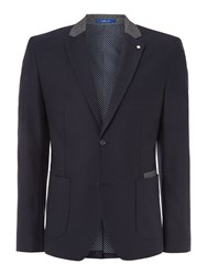 Peter Werth Turnstone Patch Pocket Blazer Indigo