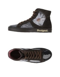 Desigual High Tops And Trainers Steel Grey