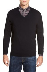 Men's John W. Nordstrom V Neck Sweater Navy Iris