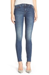 Women's Mih Jeans High Rise Skinny Jeans More Blue
