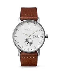 Triwa Falken Leather Strap Watch 38Mm White