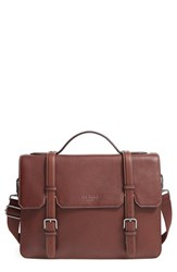 Ted Baker Men's London 'Flame' Pebbled Leather Messenger Bag