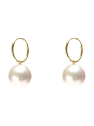 Wouters And Hendrix Gold 'Pearl' Set Of Earrings White